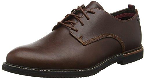 Timberland C5514A - Scarpe Basse Derby da Uomo, colore Marrone (Red Brown), taglia 42