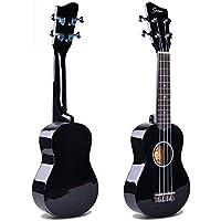 Hjyi Guitarra clásica,Guitarra para niños ELM Small Guitar Pequeña Guitarra Cool (Paquete para Enviar) 21 Pulgadas