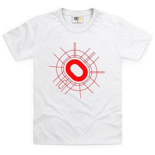 Luzhniki Stadium Kid's T Shirt, Kid's, White, XS