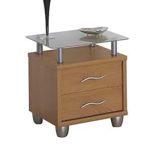 posseik 1183 08 nachttisch buche nachbildung k che haushalt. Black Bedroom Furniture Sets. Home Design Ideas