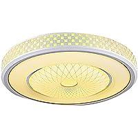 Cosa LED Lámpara de techo Salón circular de ahorro de energía de iluminación simple y moderno dormitorio Salón Lámpara luces ( Color : 62cm )