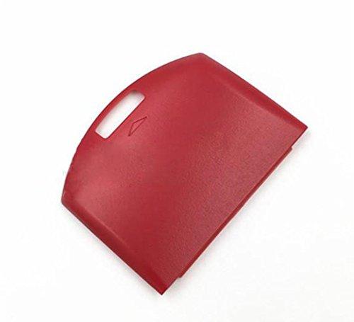 REPLACEME Akku Rückseite Tür Cover Hülle für Sony PSP 1000100110021003Rot (Tür Psp-akku)