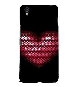 EPICCASE Heart Beat Mobile Back Case Cover For OnePlus X (Designer Case)