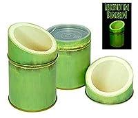 Boîte à thé matcha bambou boîte à café