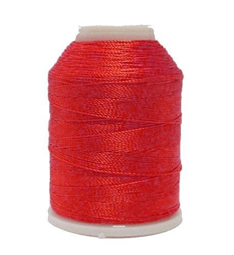 Altinbasak 20G filato per uncinetto filati 300m 6fori 0,75mm Nr: 50Poliestere filato per uncinetto cucito nähgarne 300m rosso ip211