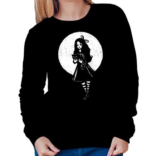TeeTrumpet Dark Alice In Wonderland Women's Sweatshirt