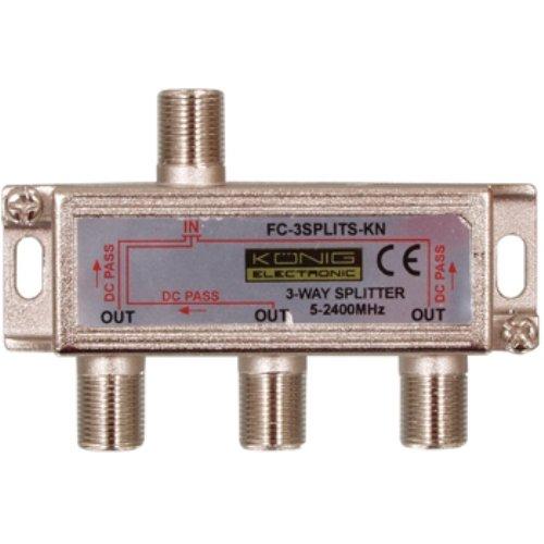 Splitter satellitare 3 vie FC 3SPLT ST KN