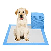 50pcs Pet Pee Pads Disposable Absorbent Quick Drying Leak-Proof Pads for Potty Training 45x60cm M