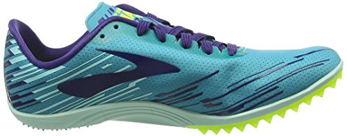 Brooks Mach 18, Chaussures de Running Compétition Femme Turquoise (Capri Breeze/Blue Ribbon/Nightlife)