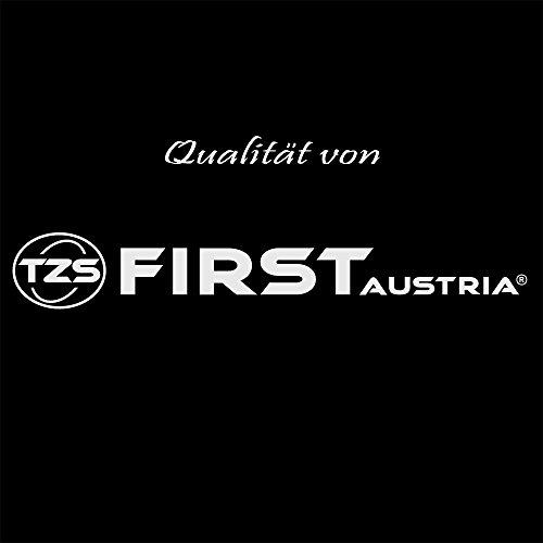 TZS First Austria – gebürsteter Edelstahl 4 Scheiben Toaster 1500W - 8