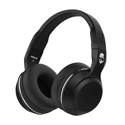 Skullcandy Hesh 2.0 Over-Ear Bluetooth Wireless Headphones with Volume Control – Black/Gunmetal