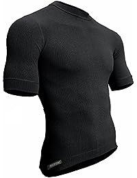 Berkner Thermo T-shirt Herren / Skiunterwäsche / Funktionsunterwäsche - SILVER BION forte - Thermoactiv