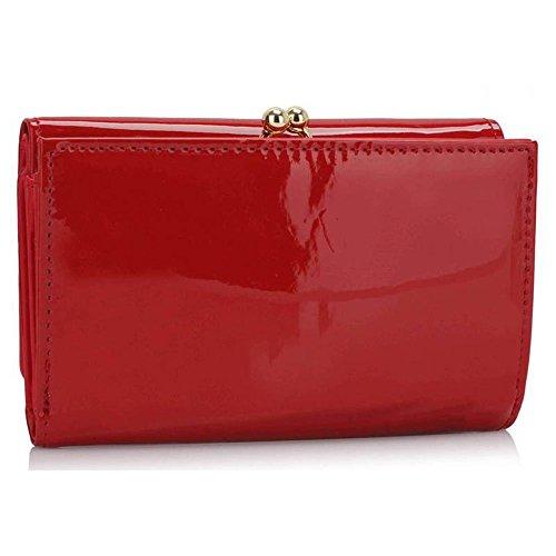 Trendstar Dames Faux Cuir Sac À Main Designer Main Célébrité Femmes De Style De La Mode Portefeuille Qualité Superbe Pièce Bourse Rouge