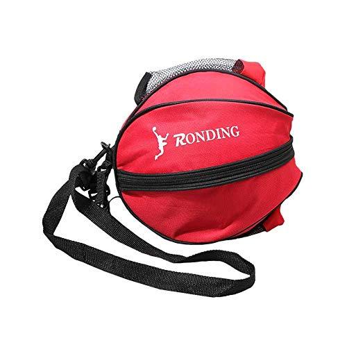 Yves25Tate 29,5 inch Sporttasche, Ball Bag Ball Tasche Umhängetasche, für Basketball Fußball Volleyball