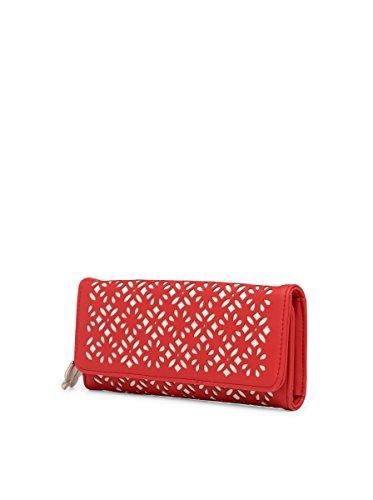 Butterflies Women Wallet Combo's (Red,Beige) (BNS C144) (Pack of 2)
