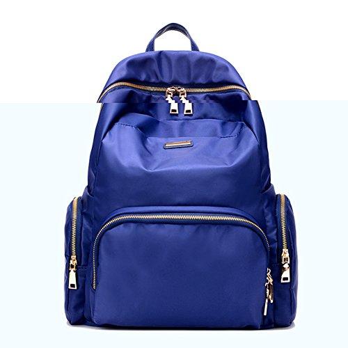 Damen schultertaschen,reisetasche,canvas-tasche,schulranzen-schwarz Blau