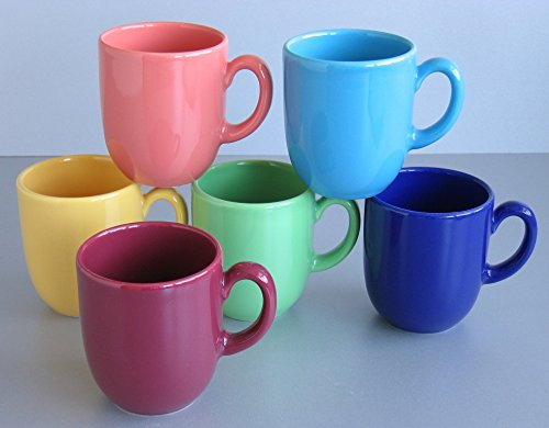 Creatable 14014, Serie Top colours, Geschirrset Kaffeebecher 6 teilig