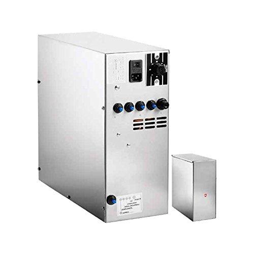 Untertisch-Trinkwassersystem SPRUDELUX Inox Ohne Filtereinheit und Ohne Wasserhahn Profi-Wassersprudler für Den Privathaushalt. Spritziges Mineralwasser/Sprudelwasser Direkt aus der Küchenarmatur.