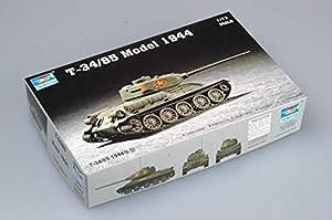 Trumpeter 7207  - Tanque soviético T-34/85 Modelo 1944 Importado de Alemania