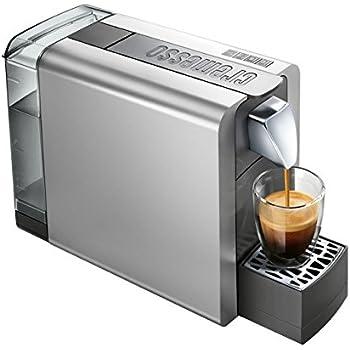 Cremesso Compact One II SHINY SILVER – Cafetera de cápsulas para el sistema Cremesso suizo