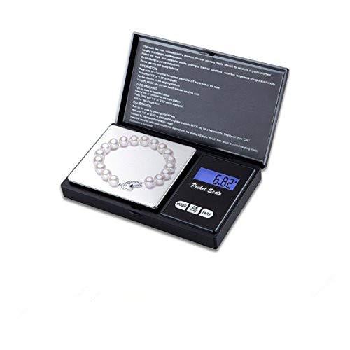 iitrust Balance électronique,500g~0.01g Mini Balance Numérique de Poche pour Balances électroniques pour Les Bijoux/Le thé/la levure/Le café