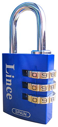 Lince 21025ABL Candado, Azul