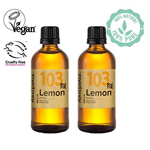 Entspannen Handcreme (Naissance Zitronenöl (Nr. 103) 200ml (2x100ml) 100% naturreines ätherisches Öl)