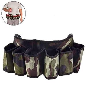 AimdonR Soda kann Biergurt verstellbaren Gurtband Camouflage Reisetasche für Wandern Camping Picknick Strand Grill