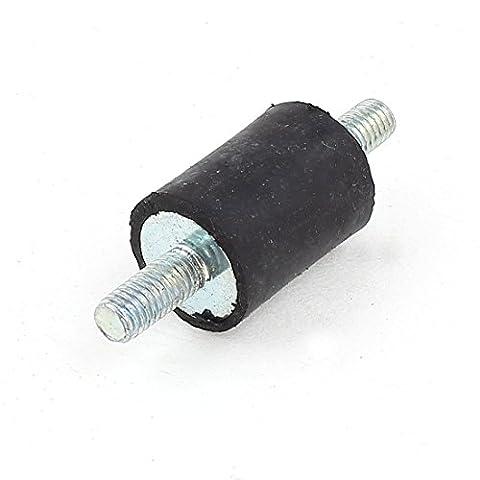sourcingmap® M5 x 12mm caoutchouc Supports Isolation vibratoire goujons 7/8
