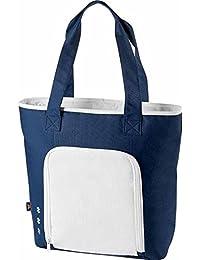Halfar - Sac cabas isotherme shopping ou pique-nique - 1807551 - bleu et blanc