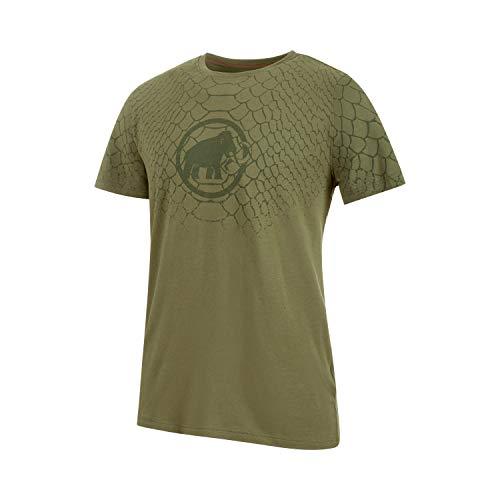 Mammut Herren Logo T-Shirt, Olive PRT1, M -