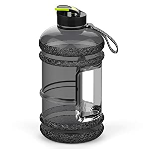 41jBcG7wKaL. SS300  - Addfun 2.2 Litre Large Sport Water Bottle With Drink Cap and Carry Handle,BPA Free Leakproof,Ideal for Gym|Dieting|Bodybuilding|Outdoor Sports|Hiking|Office