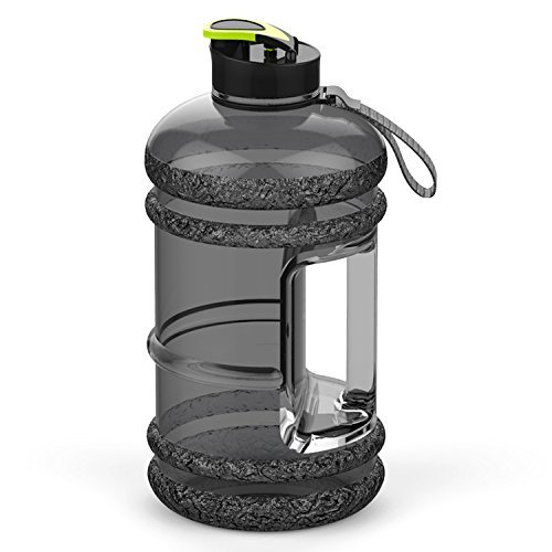 41jBcG7wKaL. SS500  - Addfun 2.2 Litre Large Sport Water Bottle With Drink Cap and Carry Handle,BPA Free Leakproof,Ideal for Gym|Dieting…