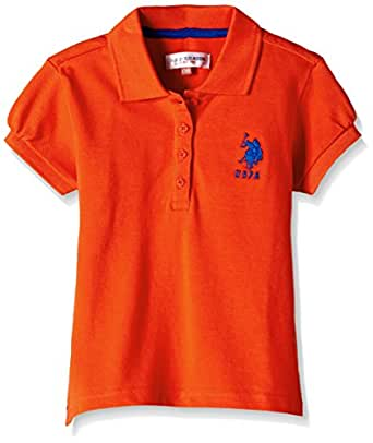 US Polo Assn. Girls  Polo  Amazon.in  Clothing   Accessories bed01c7cb