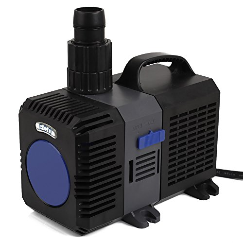 SPEED Super ECO Teichpumpe Filterpumpe Energiespar Wasserpumpe Koiteich Bachlaufpumpe (3000-12000L/H)10000L/H