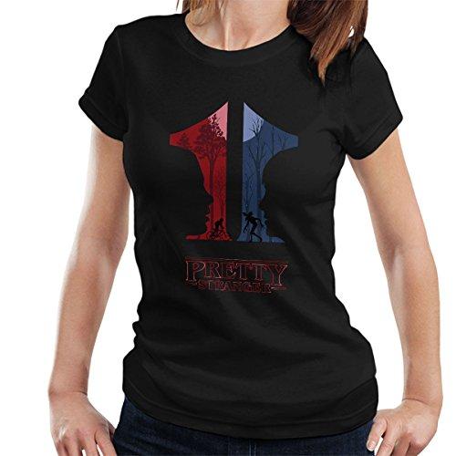 eleven-pretty-stranger-things-womens-t-shirt