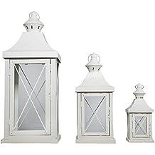 Lanterne per candele for Lanterne bianche