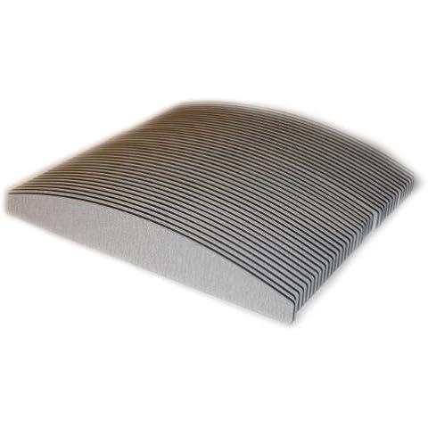 50 x de archivo de piel de cebra de 10/180 luna llegan hasta la mitad, de 22 mm de/180 mm