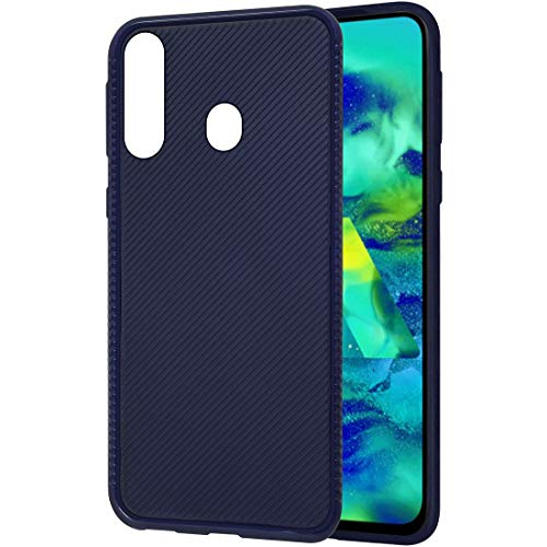 Amazon Brand – Solimo Mobile Cover for Samsung Galaxy M40 (Soft & Flexible Back case), Blue