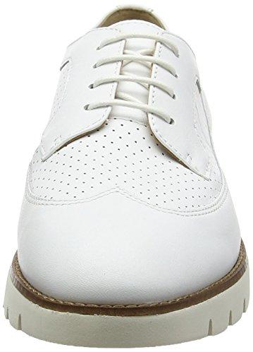 Geox Damen D Blenda A Derby Weiß (WHITEC1000)