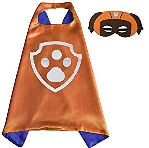 inder Cape und Masken Paw Patrol Zuma Kostüme Super Hero Kleid bis Paw Patrol Zuma Kostüme Avengers Rocky Marshall Skye Schutt Zuma Chase Fancy Kleid (Rocky Halloween-kostüm)