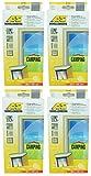 4er Set Schellenberg - Fliegengitter für Camper- und Caravantüren - Anti-Moskito - Insektenschutz - Insektenschutz-Fenster - Mückenschutz - Mücken - Fliegen - Insekten - 40 x 180 cm - weiß - 8 Stück