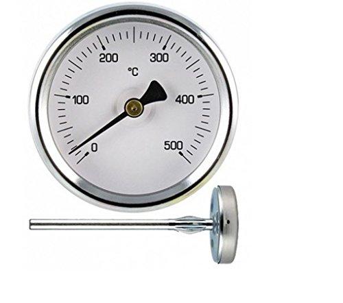 1termómetro 500^ grados de sonda larga–-CM 10–-per Horno de Leña barbacoa 10