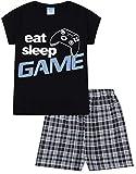 ThePyjamaFactory Schlafanzug Jungen, mit Schriftzug