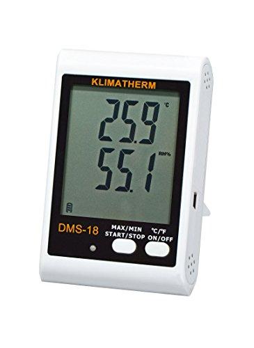 Klimatherm Datenlogger DMS-18 Thermometer Hygrometer Schimmelvorsorge