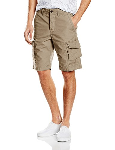 Jack & Jones Preston-Shorts Uomo, colore Beige (Chinchilla), taglia Small