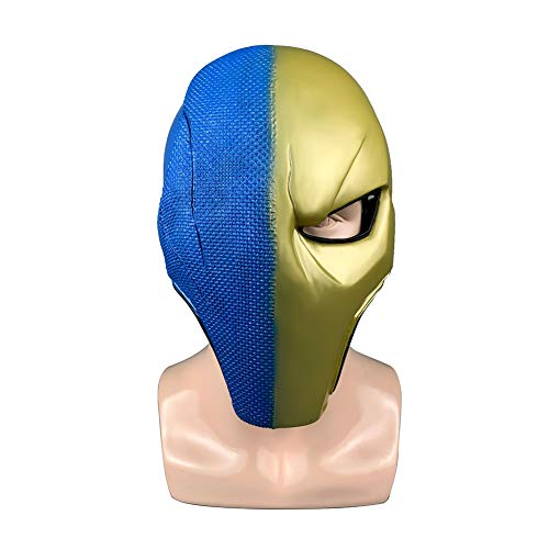 een PVC Film Maske, Karneval Verkleiden Sich Thema Maskerade Party, Horror Trauermaske,Blue ()