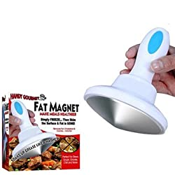 Handy Gourmet Fat Magnet Slimming Aid Fat Removal Fat Separator Strainer