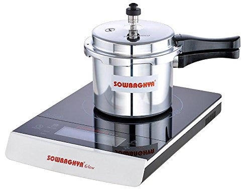Sowbaghya 3 Ltr Induction Base Aluminium Pressure Cooker  available at amazon for Rs.900