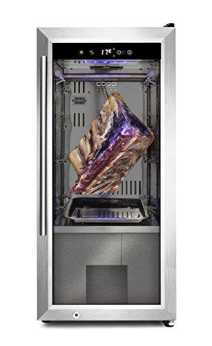 CASO 688 Dry Aged Kühlschrank, hochwertiger Reifeschrank mit Kompressortechnik, zur Lagerung und...